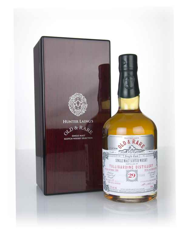 Tullibardine 29 Year Old 1989 - Old & Rare Platinum (Hunter Laing)