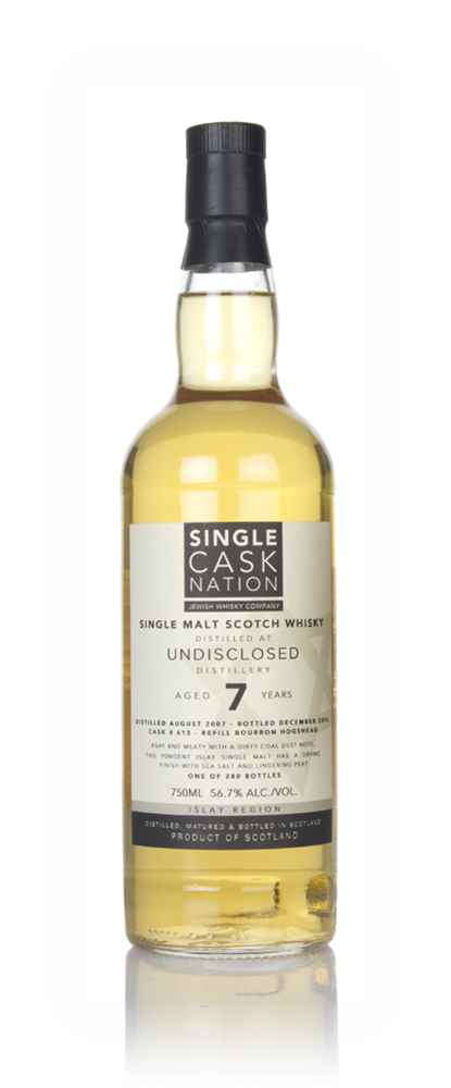 Undisclosed Islay 7 Year Old 2007 (Single Cask Nation)