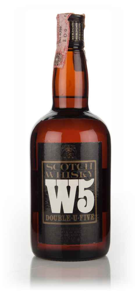 W5 Blended Scotch Whisky - 1970s