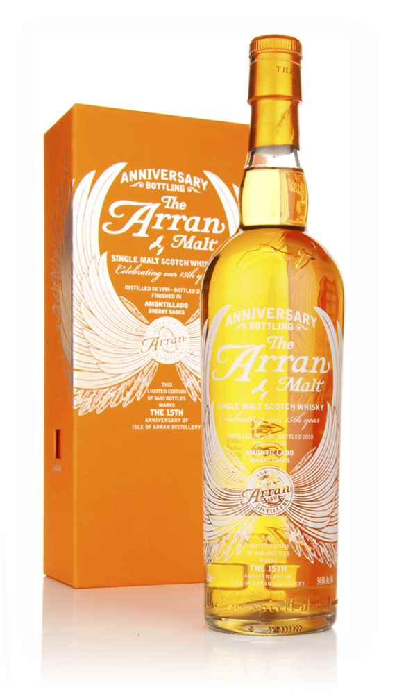 Arran 1999 15th Anniversary Amontillado Finish