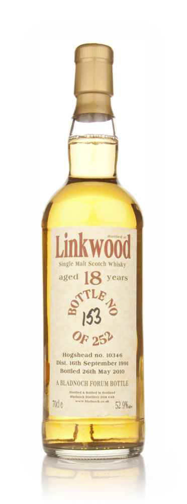 Linkwood 18 Year Old 1991 (Bladnoch)