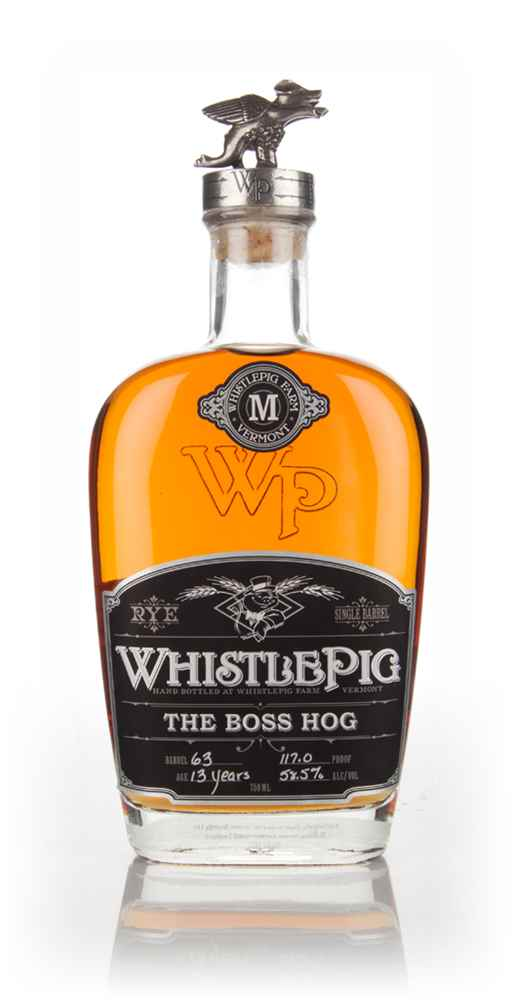 WhistlePig 13 Year Old - The Boss Hog (cask 63)