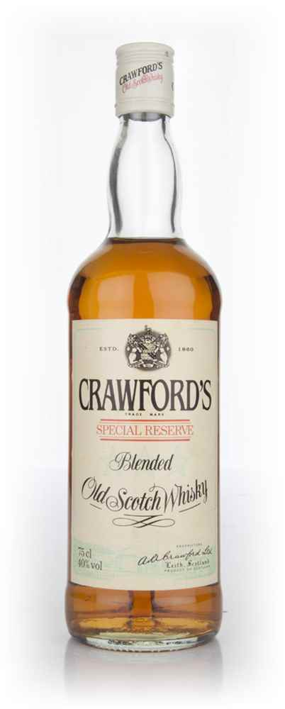 Crawford's Special Reserve - 1980s