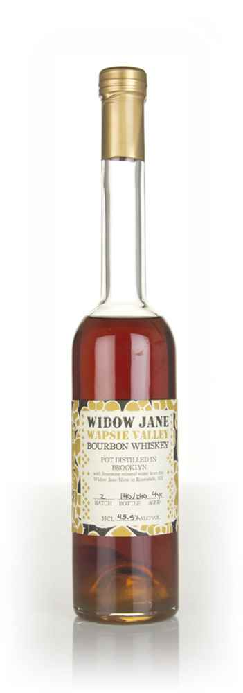 Widow Jane Wapsie Valley 4 Year Old 50/50 Bourbon