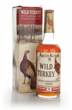 Wild Turkey 8 Year Old - 1970s
