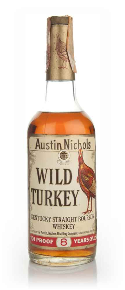 Wild Turkey 8 Year Old - 1979