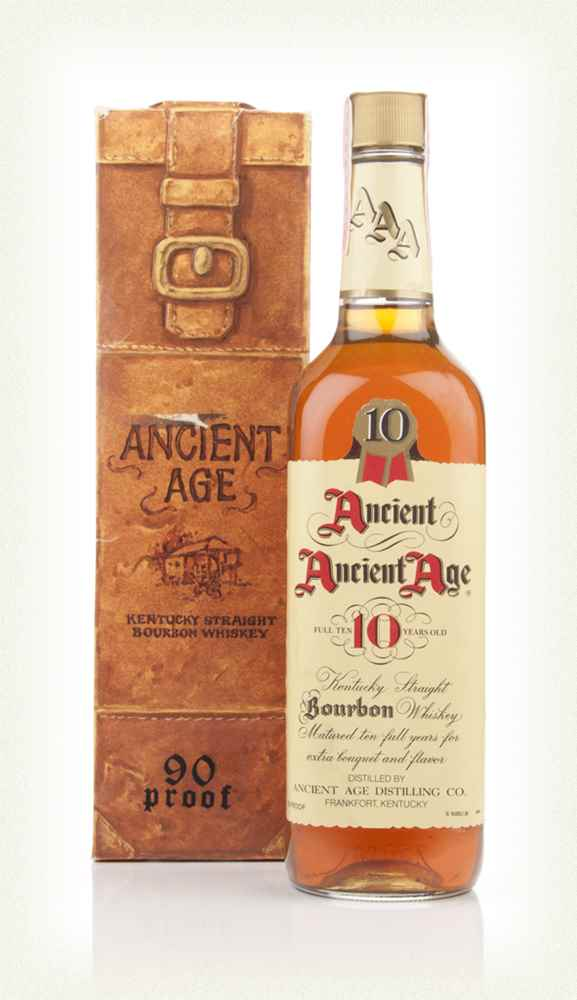 Ancient Age 10 Year Old Kentucky Bourbon - 1980s