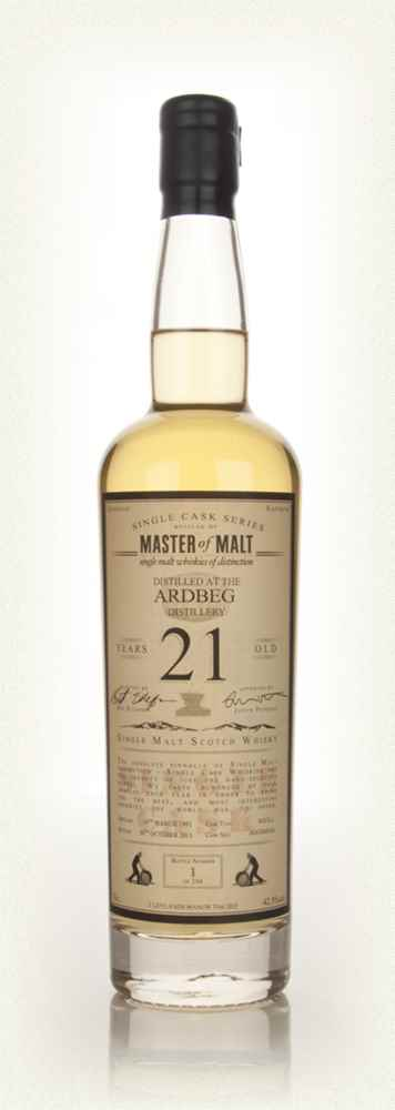 Ardbeg 21 Year Old 1992 - Single Cask (Master of Malt)