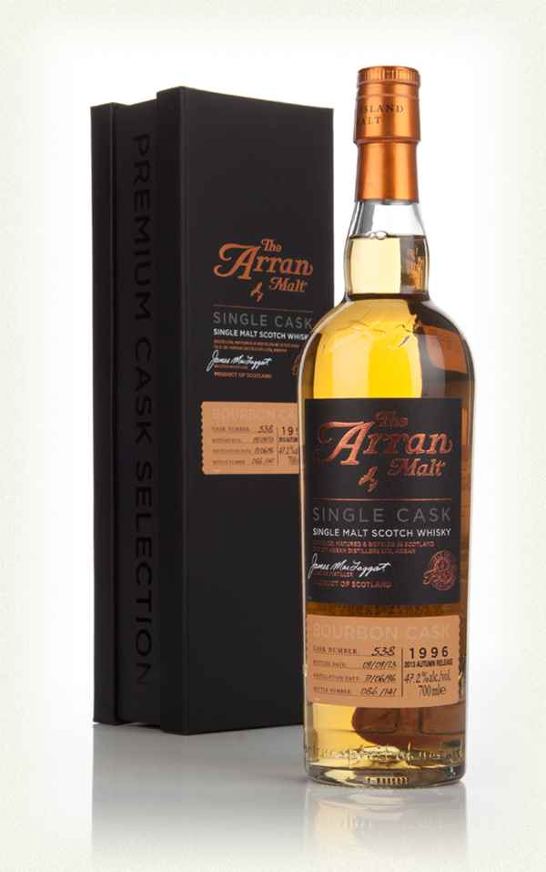 Arran Premium Single Cask 1996 (cask 538) - Bourbon Cask