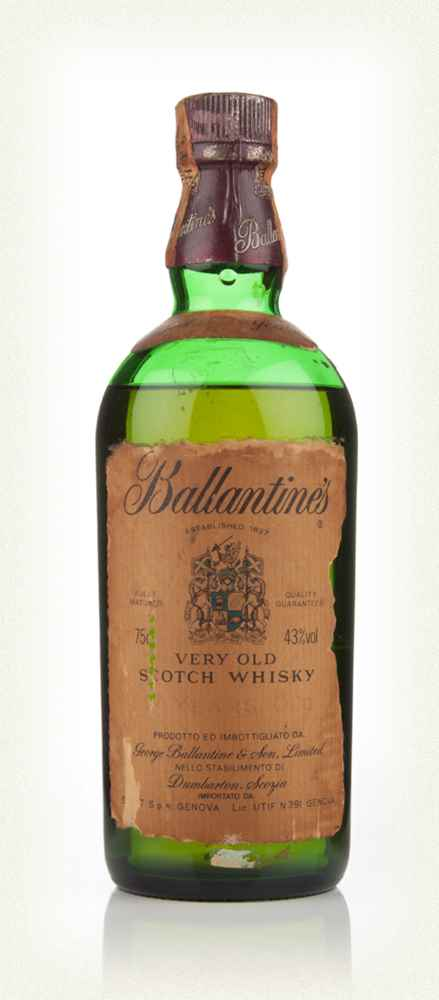 Ballantine's 17 Year Old - 1960s