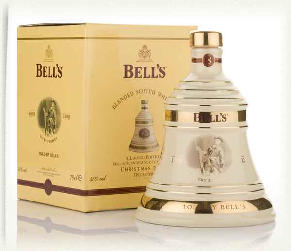 Bell's 2006 Christmas Decanter