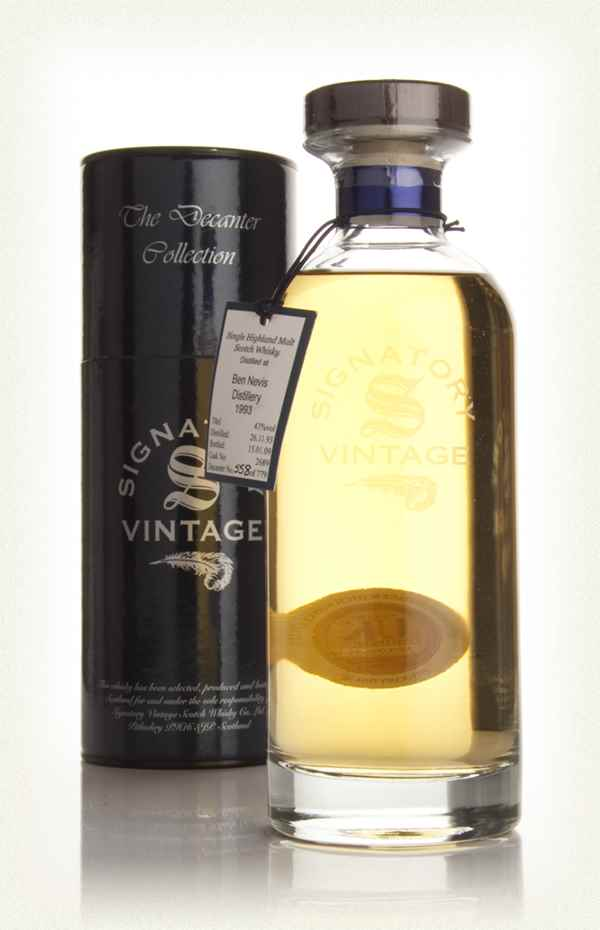 Ben Nevis 15 Year Old 1993 (cask 2689) - Ibisco Decanter (Signatory)