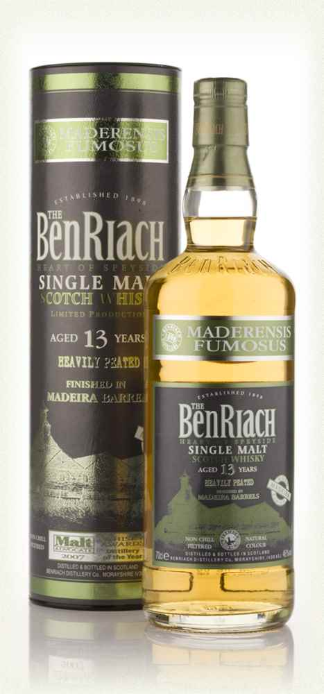 BenRiach 13 Year Old Madeira Finish - Maderensis Fumosus