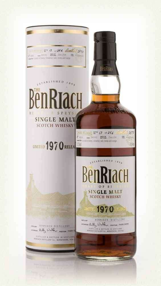 BenRiach 34 Year Old 1970