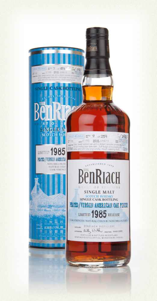 Benriach 27 Year Old 1985 (cask 7188) - Virgin American Oak Hogshead