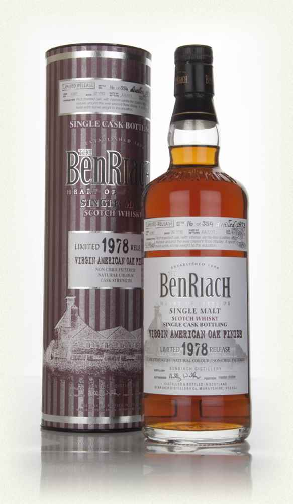 BenRiach 32 Year Old 1978 (cask 4387) - Virgin American Oak Finish