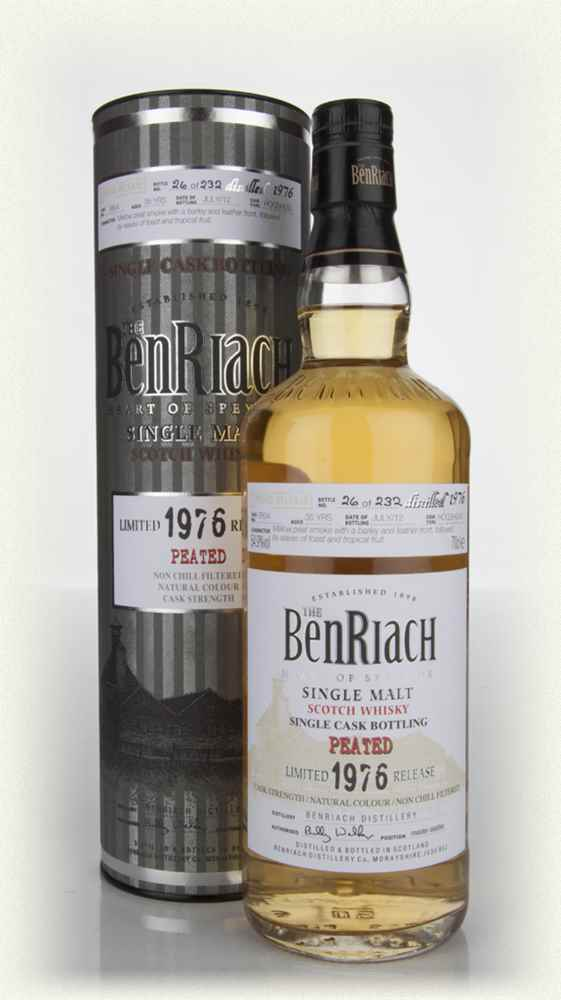BenRiach 35 Year Old 1976 Peated Hogshead