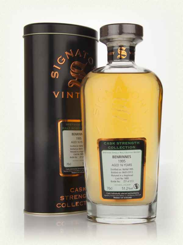 Benrinnes 16 Year Old 1995 - Cask Strength Collection (Signatory)