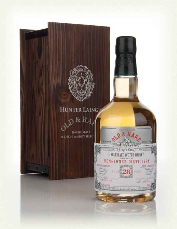 Benrinnes 28 Year Old 1984 - Old & Rare Platinum (Hunter Laing)