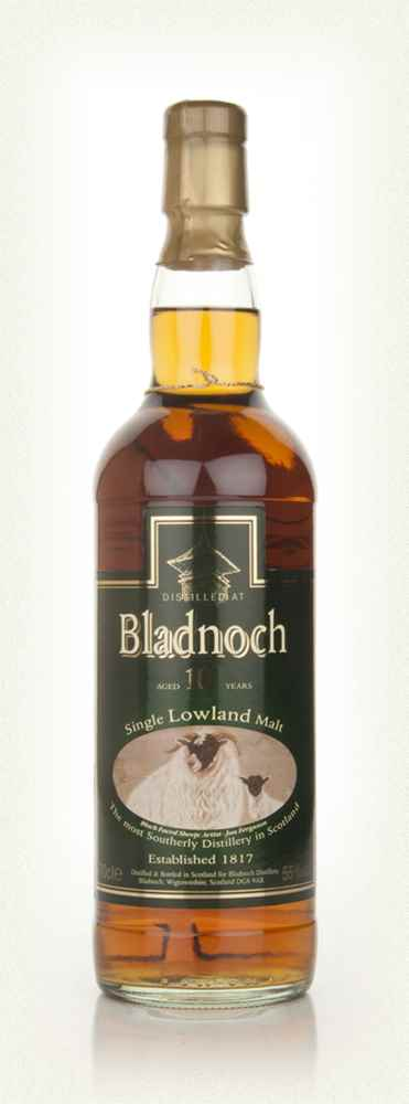 Bladnoch 10 Year - Old Sheep Label