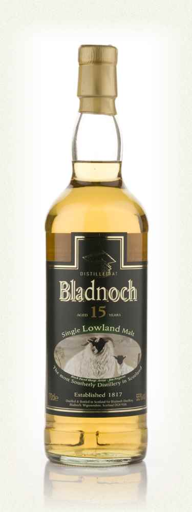 Bladnoch 15 Year Old - Sheep Label