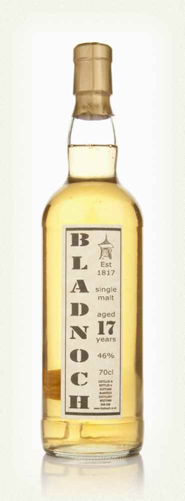 Bladnoch 17 Year Old - Distillery Label