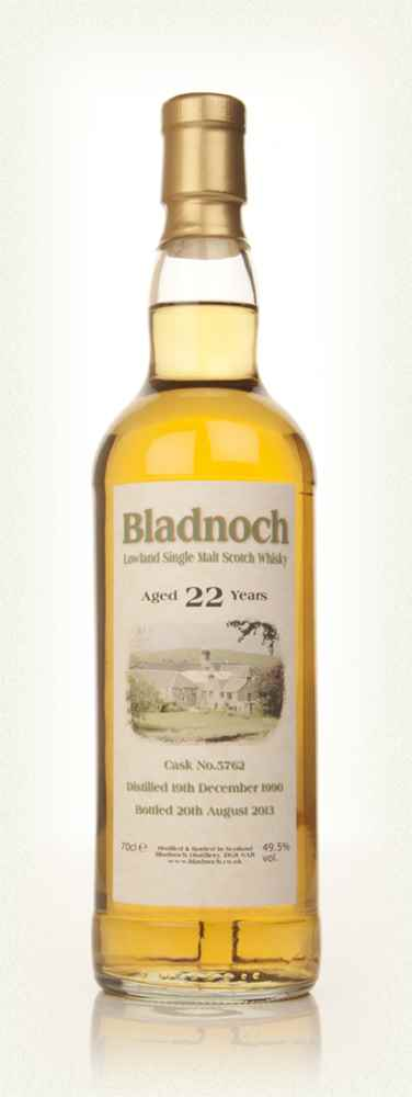 Bladnoch 22 Year Old 1990 (cask 5762)