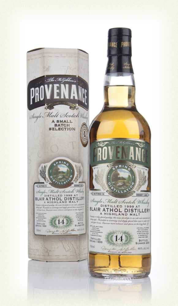 Blair Athol 14 Year Old 1999 (cask 9866) - Provenance (Douglas Laing)
