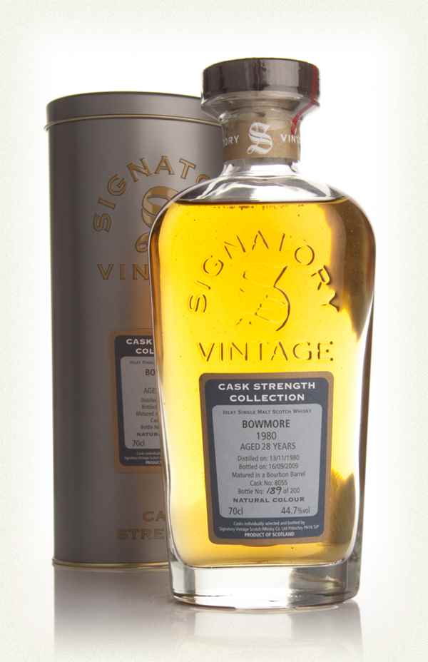 Bowmore 28 Year Old 1980 - Cask Strength Collection (Signatory)