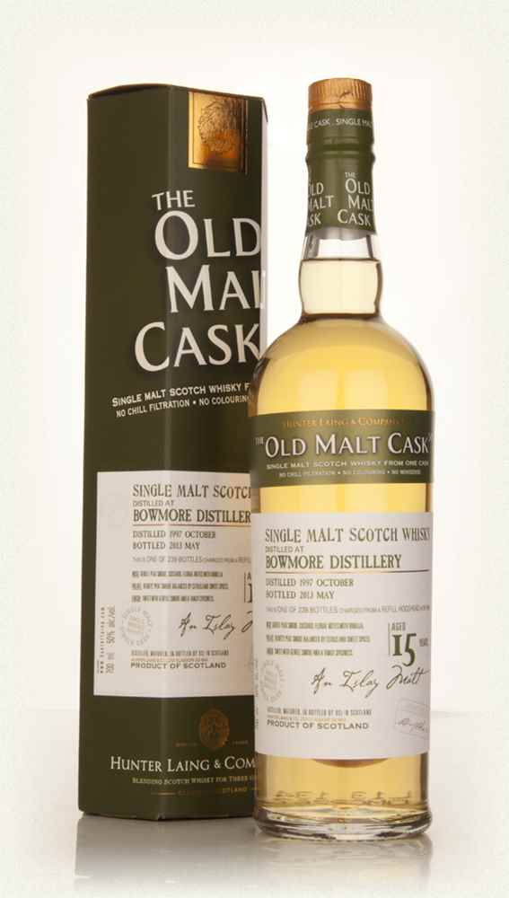 Bowmore 15 Year Old 1997 (cask 9808) - Old Malt Cask (Hunter Laing)