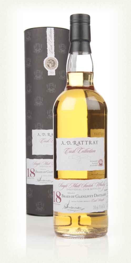Braes of Glenlivet 18 Year Old 1994 (cask 159178) - Cask Collection (A. D. Rattray)