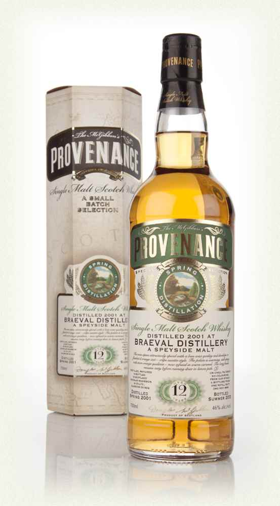 Braeval 12 Year Old 2001 (cask 9865) - Provenance (Douglas Laing)