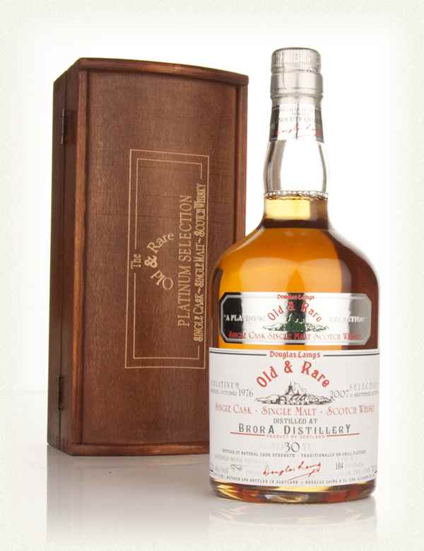 Brora 30 Year Old 1976 - Old and Rare Platinum (Douglas Laing)