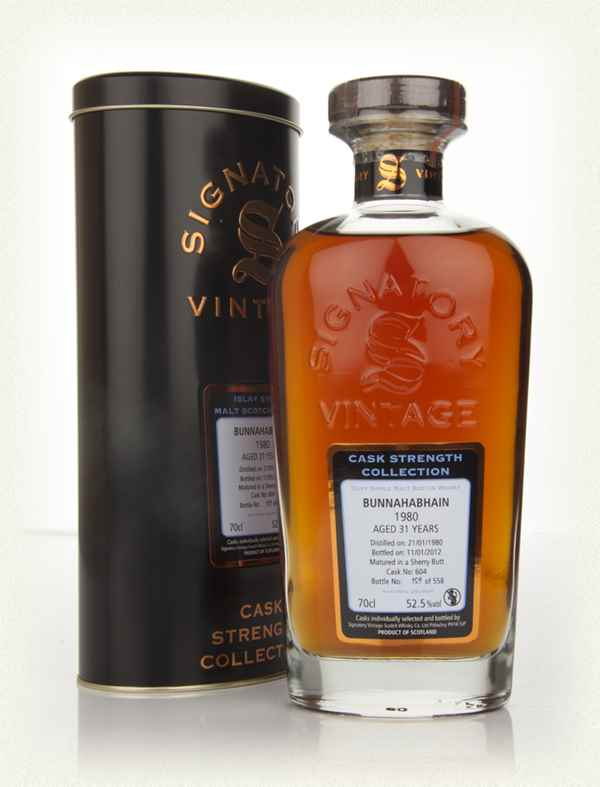 Bunnahabhain 31 Year Old 1980 - Cask Strength Collection (Signatory)