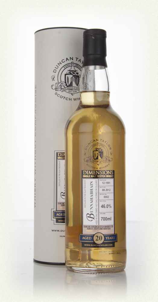 Bunnahabhain 20 Year Old 1991 - Batch 0002 - Dimensions (Duncan Taylor)