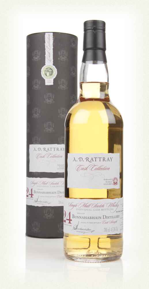 Bunnahabhain 24 Year Old 1989 (cask 5753) - Cask Collection (A. D. Rattray)