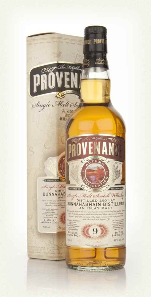 Bunnahabhain 9 Year Old 2001 - Provenance (Douglas Laing)