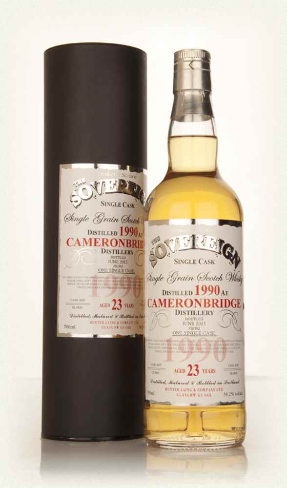 Cameronbridge 23 Year Old 1990 (cask 9860) - The Sovereign (Hunter Laing)