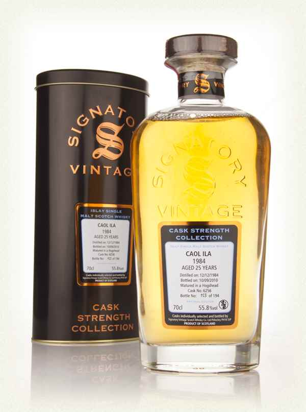 Caol Ila 25 Year Old 1984 Cask 6256 - Cask Strength Collection (Signatory)