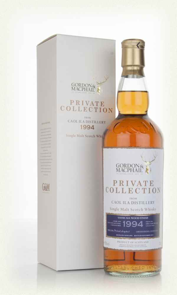 Caol Ila 18 Year Old 1994 - Sassicaia Wood Finish - Private Collection (Gordon & MacPhail)