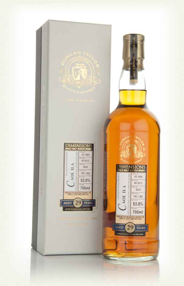 Caol Ila 29 Year Old 1983 - Dimensions (Duncan Taylor)