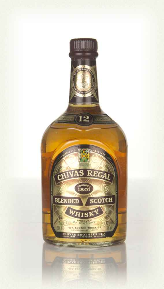 Chivas Regal 12 Year Old - 1980s