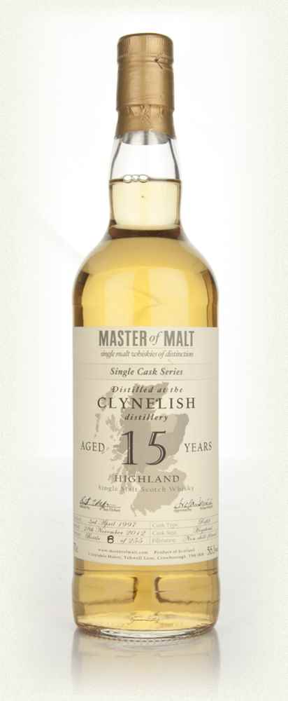 Clynelish 15 Year Old - Single Cask (Master of Malt)