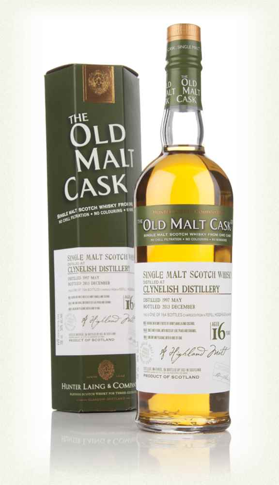Clynelish 16 Year Old 1997 (cask 10227) - Old Malt Cask (Hunter Laing)