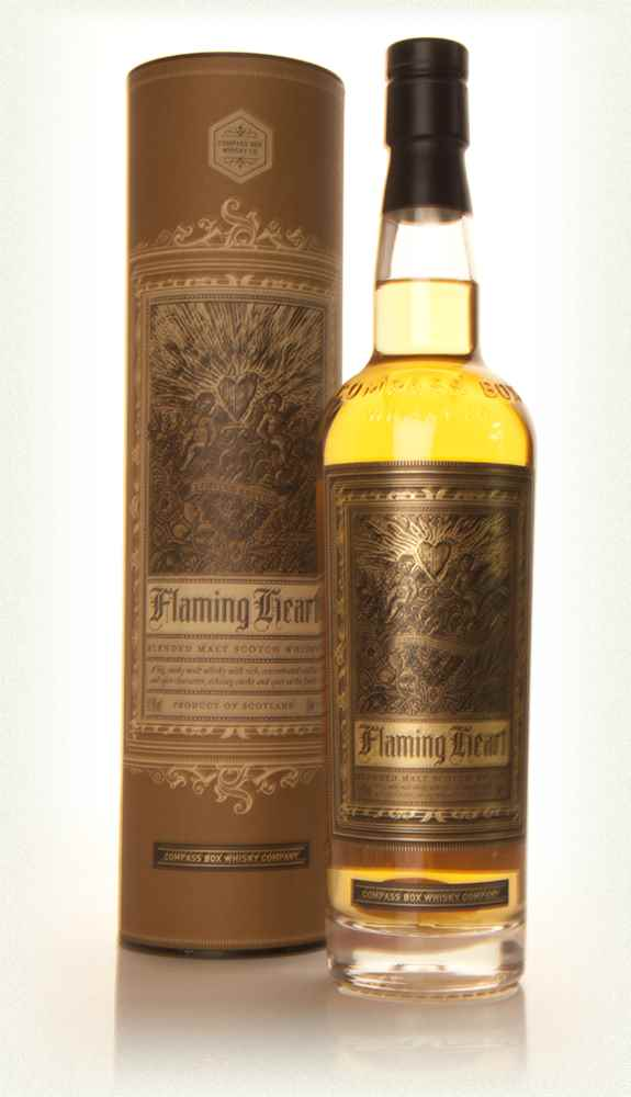 Compass Box Flaming Heart - Release 4