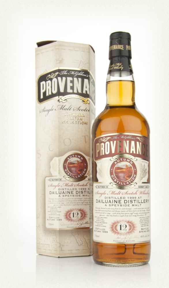 Dailuaine 12 Year Old 1999 Sherry - Provenance (Douglas Laing)