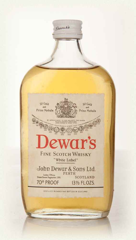 Dewars White Label 13 1/3oz