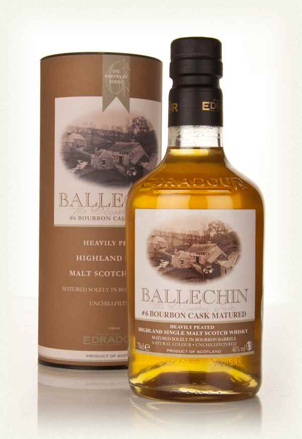 Edradour Ballechin #6 Bourbon Cask Matured (The Discovery Series)