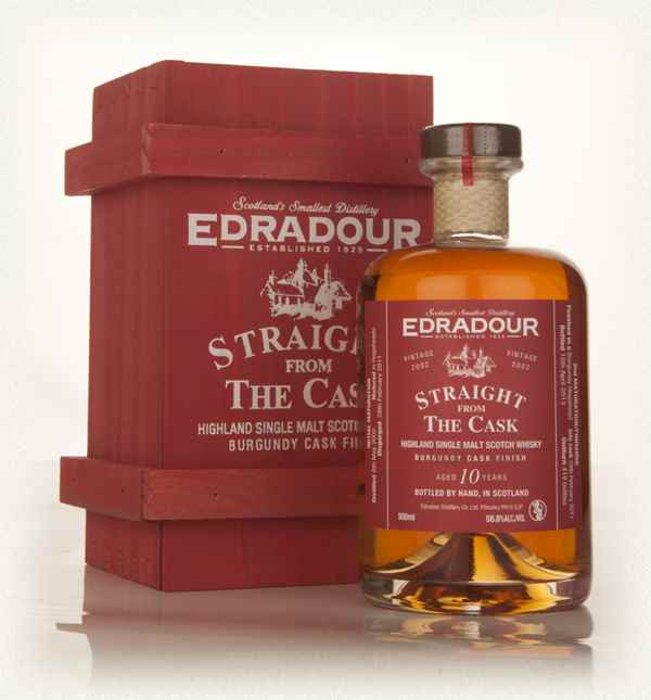 Edradour 10 Year Old 2002 Burgundy Cask Finish - Straight from the Cask 58.8%