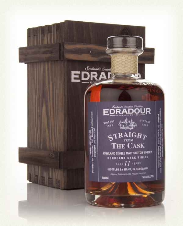 Edradour 11 Year Old 1998 Bordeaux Cask Finish - Straight from the Cask